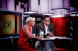 Mika Brzezinski and Joe Scarborough of Morning Joe
